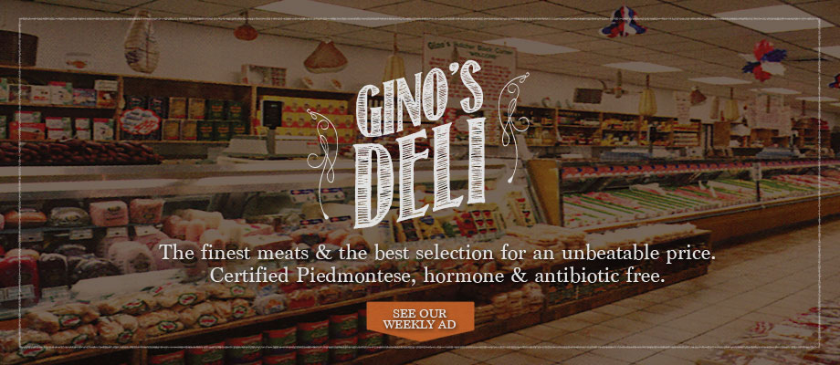 Ginos Italian Market Meat Market And Deli Hollywood FL - 7 top cheese shops in south florida